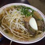 きりん亭 - 温麺700円