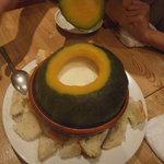 ほく菜 - かぼちゃのチーズフォンデュ