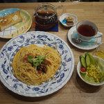 岩村紅茶 - 柚子パスタセット