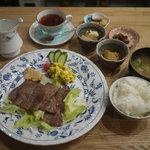 岩村紅茶 - ステーキセット