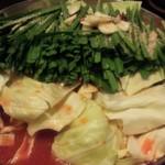 黒木屋 - もつ鍋(辛味噌)1,134円