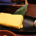 湘南の魚とワインの店 ヒラツカ - シラスの玉子焼き