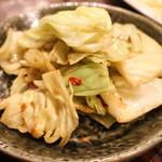 湘南の魚とワインの店 ヒラツカ - アンチョビキャベツ