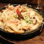 湘南の魚とワインの店 ヒラツカ - キノコのチュプチュプ