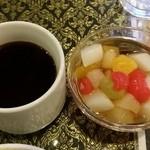 アジアンタワン - 【2016年1月ランチ】タイのお茶、デザート