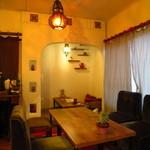 Handmade cafe USAGIUMA - 奥の個室的な空間はとっても居心地よさそう・・・