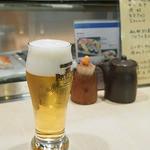 宝寿司 - 生ビール