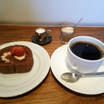 carta - ケーキとコーヒー