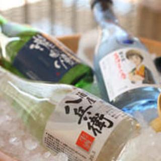 【三重の地酒】1杯400~三重のお酒を15種以上ご用意
