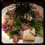 こすぎ畑 - 豆腐と山芋の海鮮サラダ 750円