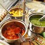 インド・ネパール料理 ナラヤニ - 漬物かな?聞き忘れてました。 (>_<)