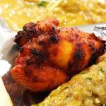 インド・ネパール料理 ナラヤニ - タンドリーチキン (^○^)