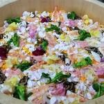 新都 - 食用花のちらし寿司