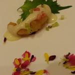 チャイナ ダイニング 羽龍 - 海老とフルーツのマヨネーズ炒め
