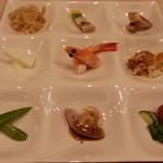 チャイナ ダイニング 羽龍 - 季節の前菜盛合せ