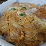 海鮮、定食、天ぷらと酒 舟源 - トロトロ玉子カツ丼♪