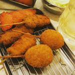 串カツ田中 - 煮玉子オススメです(*´﹃`*)
