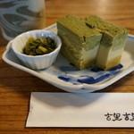 そば 吉里吉里 - 牡蠣豆腐・・旨過ぎました。