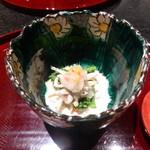 48023425 - 先附<氷魚と菜の花>