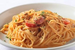 ラ・ベルデ - 【Pasta】絶品♪ウニとトマトの濃厚クリームソース