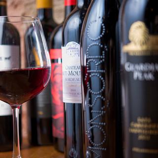 低価格に込められたソムリエオーナーのワインへのこだわり◎