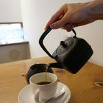 ガーデン・カフェ - ドリンク写真:鉄瓶コーヒー