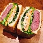 軽井沢ベジビエ - 料理写真:ベジビエバーグサンド