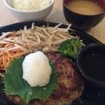 Osaka Teppanyaki Kawano  - 鉄板ハンバーグっす