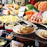 北○ - 北海道 満喫コース(旬のものでご用意する為、毎月変わります。)