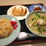 中華菜館かたおか - ちゃんぽんセット 1000円
