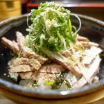 ラーメン巌哲 - チャーシュー丼