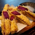 ちんとんしゃん - 紅イモの天ぷら