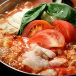ちんとんしゃん - トマトもつ鍋