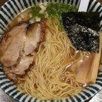 七重の味の店 めじろ - 【閉店】醤油ら~めん 税込750円