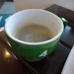 ブーランジェリー・フー - コーヒー280円(外税)