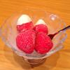 丸ごと苺アイス