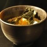 味噌漬け生姜の特製お茶漬け