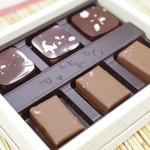 ショコラティエ パレ ド オール - 獺祭 磨き二割三分チョコレート
