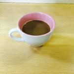 いなか亭 - 食後のコーヒー