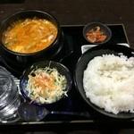 48038806 - チーズ純豆腐ランチセット