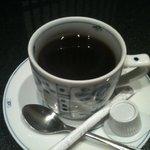 板前割烹 ひぐち - 私はホットコーヒーを頂きました。