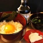 関西の味 串カツ マハカラ - 卵の味を味わうTKG