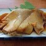 レストラン富士 - ギンガレイ煮付