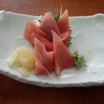 レストラン富士 - マグロ刺身