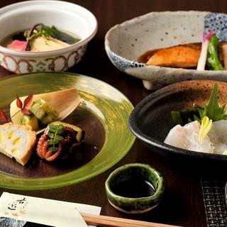 創業40年の歴史に確かな味わいの和食