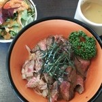 キッチンゴン - ステーキ丼