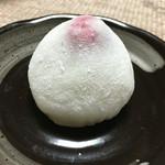 梅果堂 - 年に一度のお楽しみ「苺大福」(2016.1)