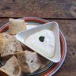 ドットキッチンアンドバー - 冷たいチーズフォンデュ