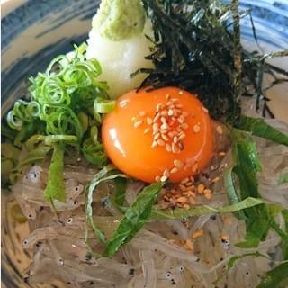 【期間限定】絶品★淡路島の生しらすタップリ!!生しらす丼♪