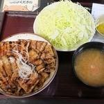 48047351 - 豚丼(竹)セット980円